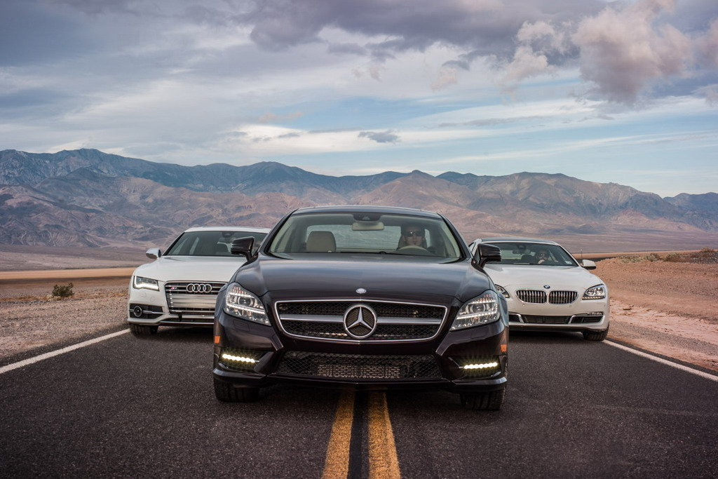 a comparison of bmw and mercedes benz automobiles from germany Germany's big three dominated the mercedes-benz e-class, and bmw 4 filled up our list of the top 10 best-selling luxury vehicles in the world.